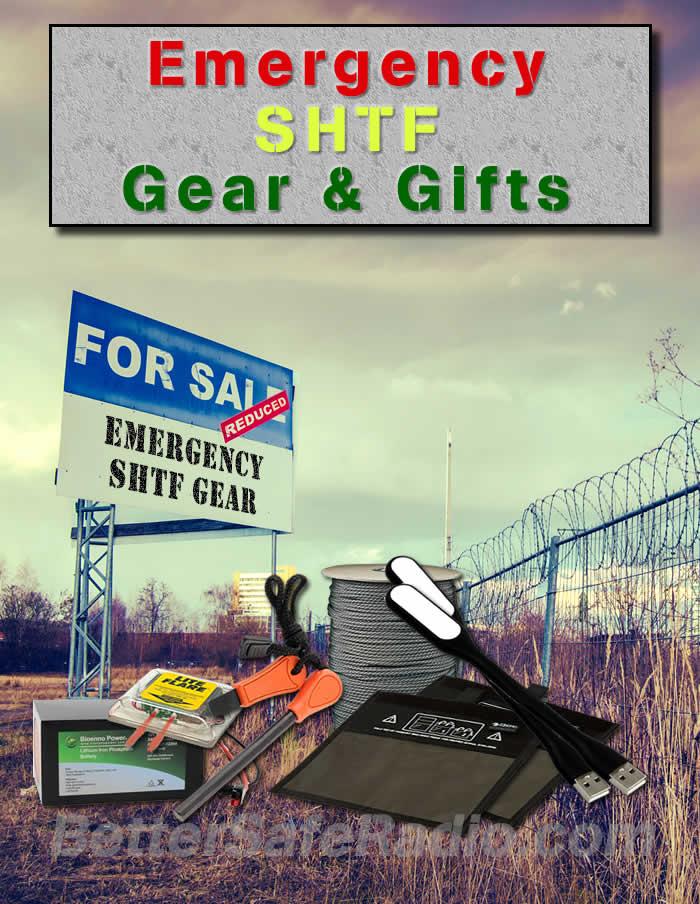 Emergency SHTF Gear & Gifts