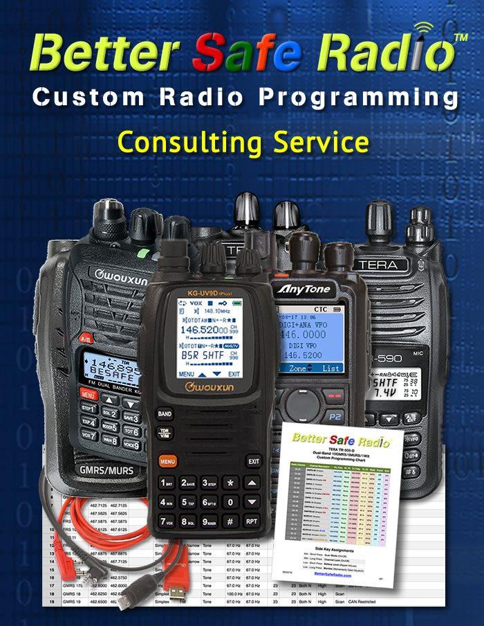 BSR-PCON Custom Radio Programming Service