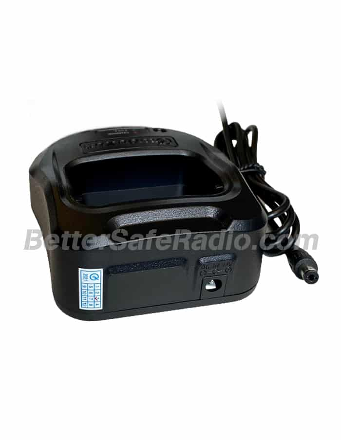 BSR Wouxun KG-UV9G PRO GMRS Two-Way Radio - Charger Plug