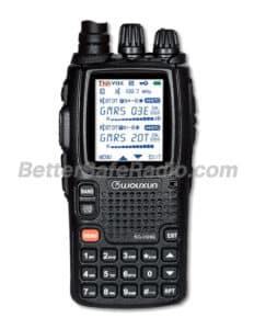 BSR Wouxun KG-UV9G PRO GMRS Two-Way Radio & SHTF Scanner