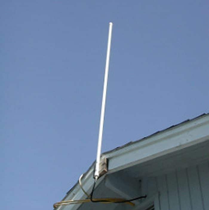 Ed Fong DBJ-1 Dual Band MURS GMRS Commercial Base Antenna - Installed