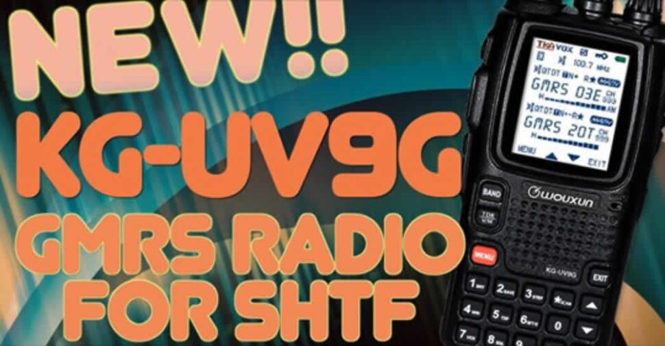 NEW KG-UV9G GMRS Radio for SHTF video title image
