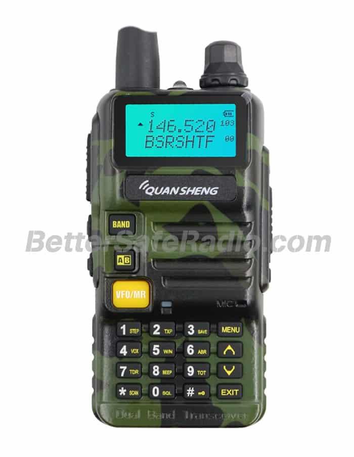 QuanSheng UV-R50-CX Amateur Ham Two-Way Radio