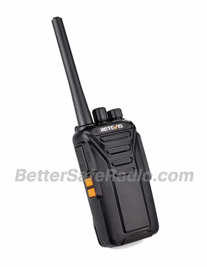 Retevis RT27 FRS Personal Business License-Free Two-Way Radio - Angle View