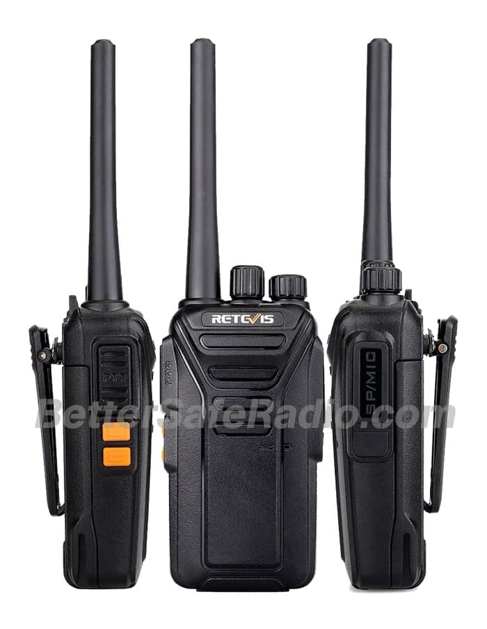 Retevis RT27 FRS Personal Business License-Free Two-Way Radio - Sides