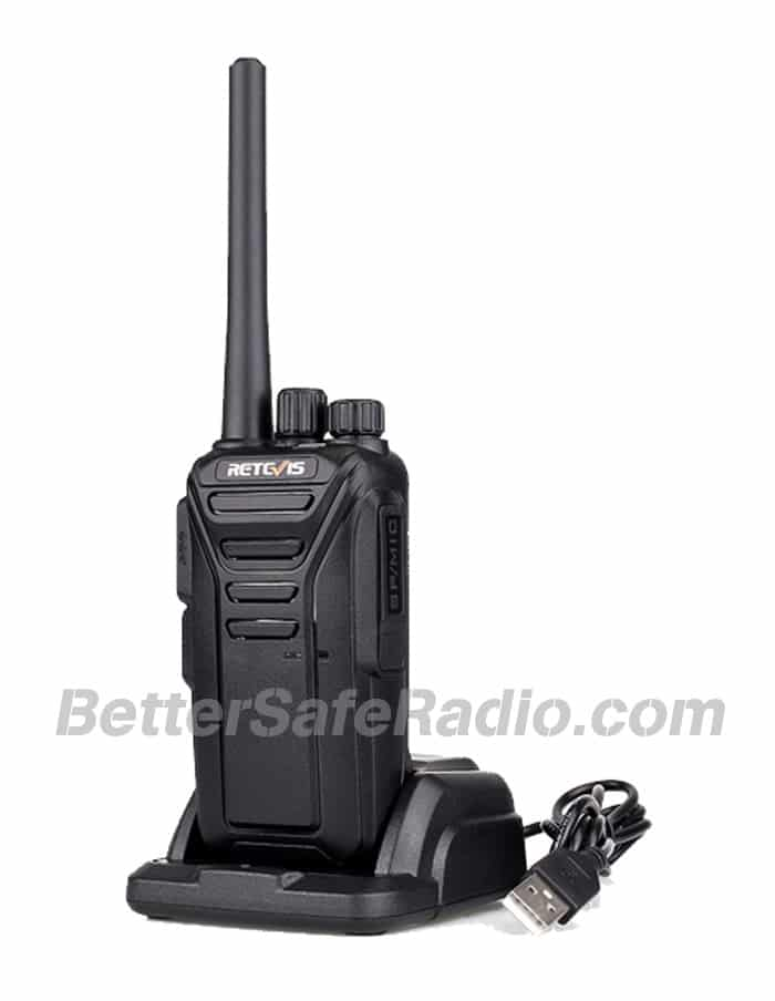 Retevis RT27V MURS Personal Business License-Free Two-Way Radio - Charger