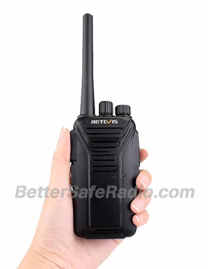 Retevis RT27V MURS Personal Business License-Free Two-Way Radio - Hand