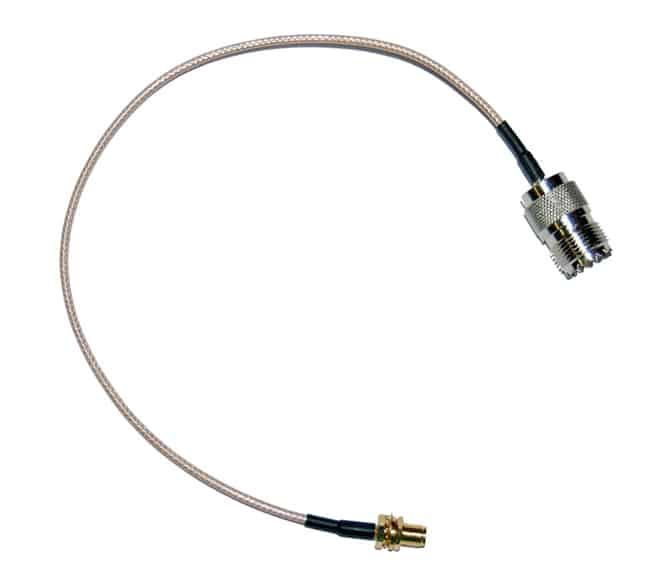 SMA Female to SO-239 6 Coax Adapter Jumper
