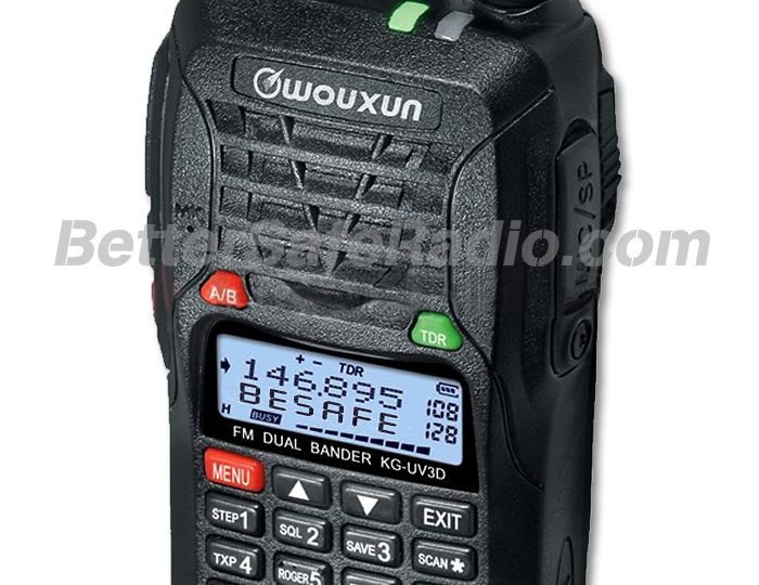 Closeout Special on the Wouxun KG-UV3D Amateur Two-Way Radio