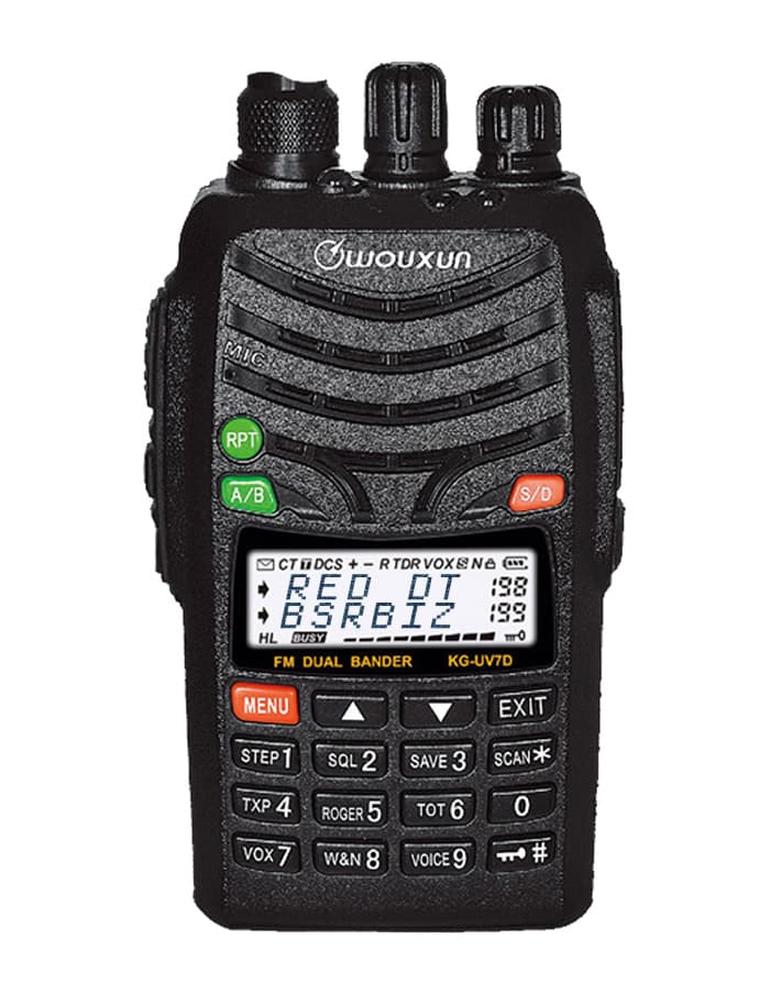 Wouxun KG-UV7D Commercial Ham Two-Way Radio - Front