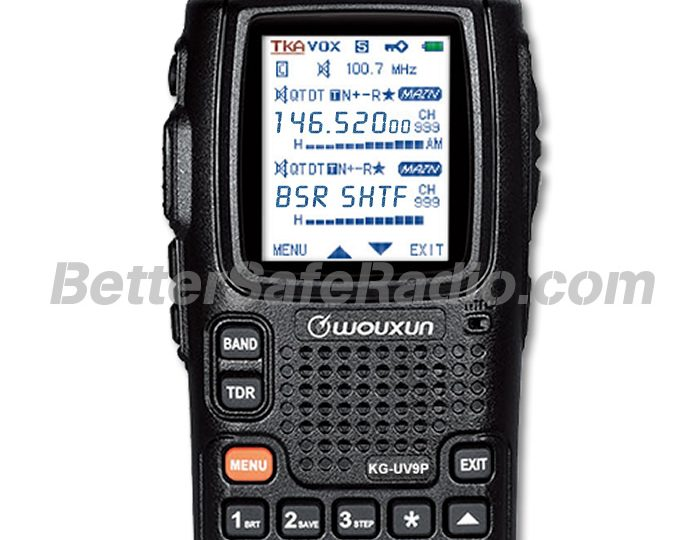 Introducing the Wouxun KG-UV9P Hi-Power Amateur Ham Two-Way Radio