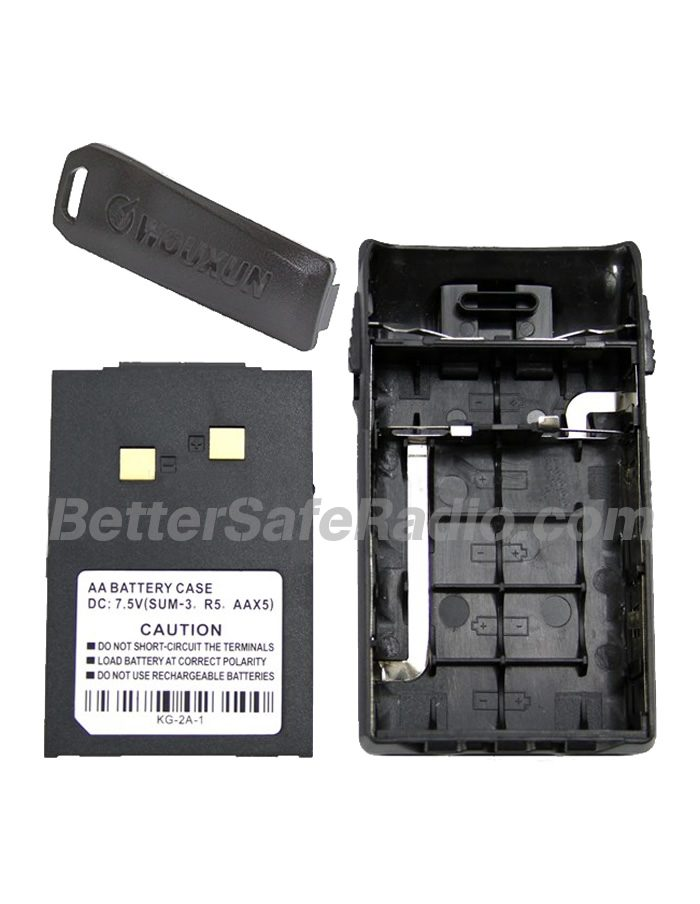 Wouxun WXAAB Standard AA Battery Case